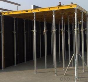 Timber Beam  Column Formwork Slab Formworks Used in Construction Building