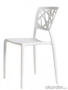 Navy Plastic Chair Mordern design Cheap Stackable