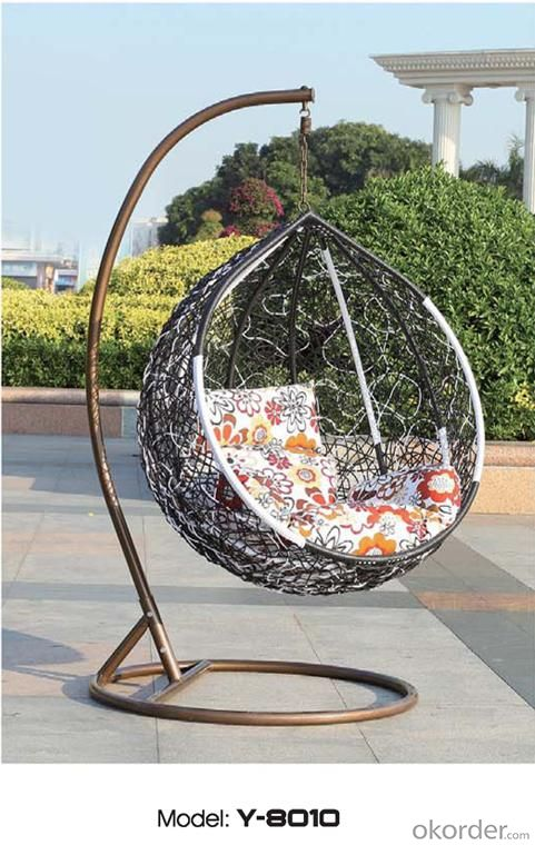 Hot Sell All-weather Outdoor Pear Shape Swing set for Adults 2015