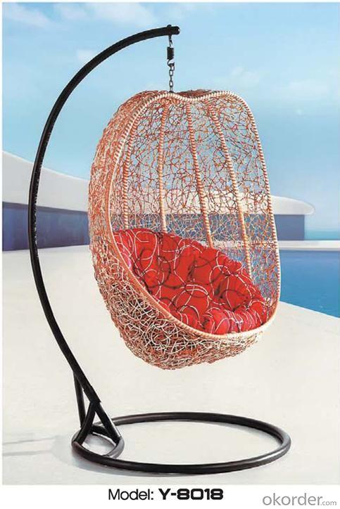 Compre mobiliario para exteriores silla columpio en forma for Silla huevo precio