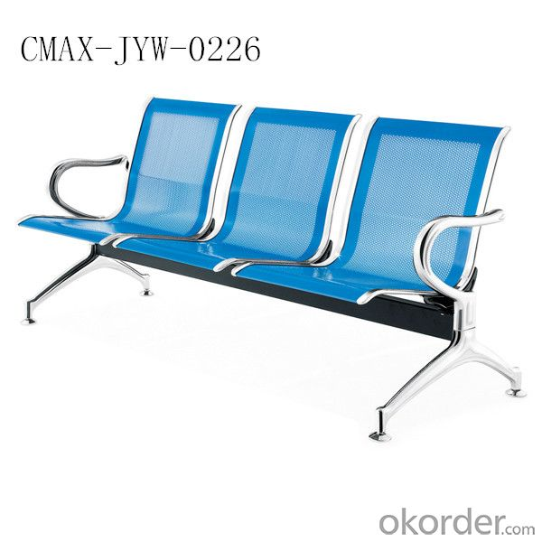 Metal Public Waiting Chair with CE Certificate CMAX-JYW-0226