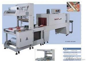 FULLY AUTO STRAIGHT FEEDING SLEEVE SEALER AND SHRINK TUNNEL