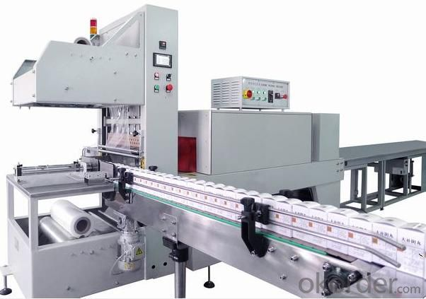 FULLY-AUTO SLEEVE SEALER & SHRINK TUNNEL (MULTI-ROWS)