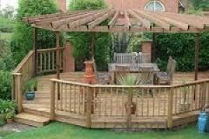 Outdoor Garden Decking or Project WPC Decking