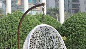 Garden PE Wicker Outdoor Hanging Chair for Outdoor Activities
