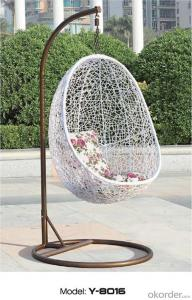 Garden PE Wicker Outdoor Hanging Chair for Outdoor Activities