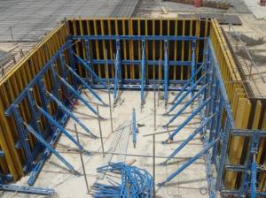 Single-side Steel Framed Formwork for Construction Building