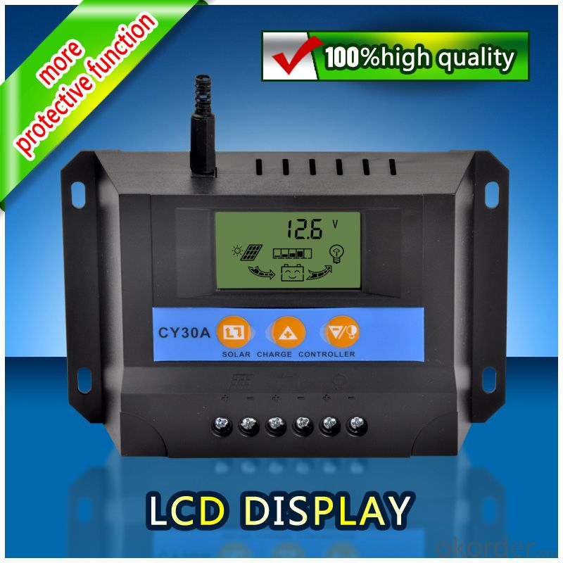 Solar LCD Controller CY30A,Hot-selling, with best price
