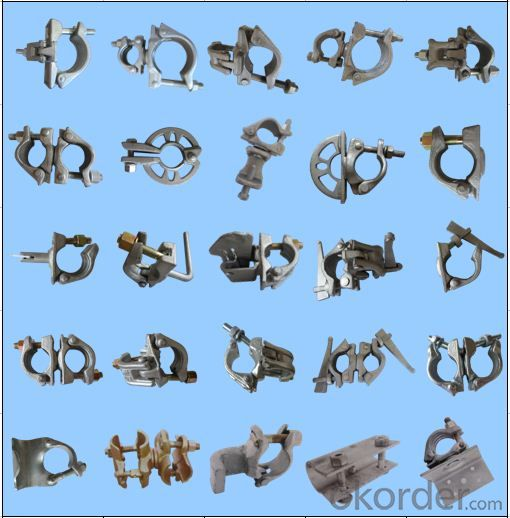 Types of scaffolding drop forged Swivel coupler