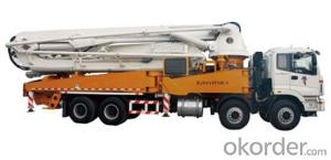 Pump Truck: BJ5393THB-1,Boom System,Pumping System
