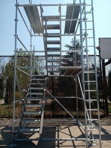 Standard Galvanized Ringlock System Scaffolding