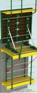 WTB Steel Frame Formwork with Higher Quality in Construction Building