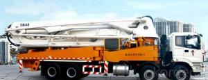 Pump Truck: BJ5293THB-1,Designed According to the Latest Frame Structure Concept of Europe