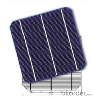 Mono Solar cell 156mmx156mm