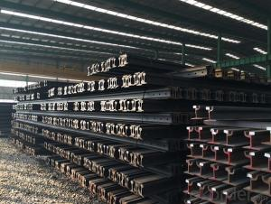 High Quality Heavy Steel Rails for Rails of Tren GB38KG, GB43KG
