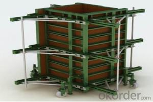 Steel Frame Formworks, Higher Quality with low cost in Construction Buildings