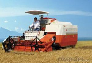 Combine Harvester: DG200,can realize continuous variable transmission of the complete vehicle.