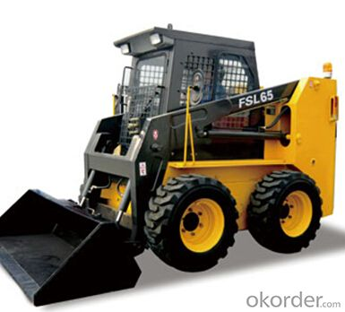 Skid Steer Loader: FSL65,All-wheel drive, suitable for uneven ground;