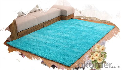 Cotton Carpet through Hand Make Comfortable for Home
