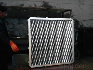 aluminum  expanded metal mesh for facade cladding