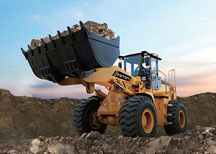 Wheel-loader: FL966F-II,uses the excellent WEICHAI WD10G240E21 engine