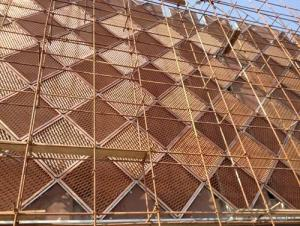 aluminum  expanded metal mesh for cladding