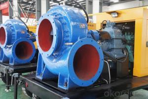 Mix-flow Diesel Water Pump Diesel Engine Pump Power Pump(8m lift)