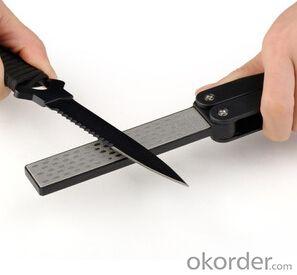 Portable Diamond Sharpening Tools Folded mini stone
