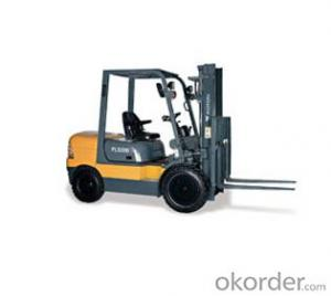Forklift: FL530D, Intelligent LCD, simple and convenient operation