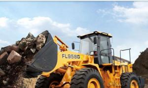 Wheel-loader: FL935E-II,Equipped with YC6B125-T20 Engine