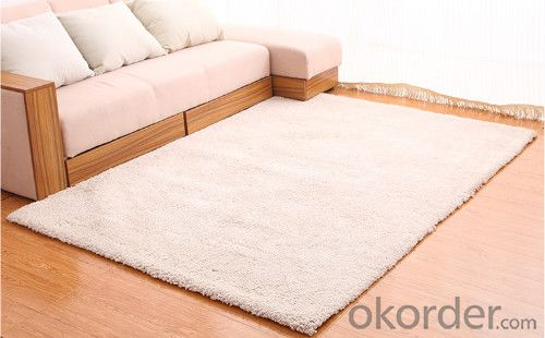 Hook Rug through Hand Make with Modern Design from China
