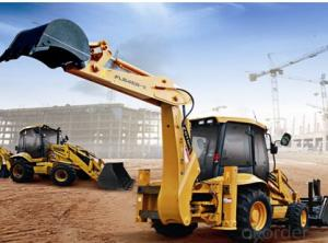 Backhoe Loader: FLB468-II Side Shift,Powerful 1004C-P4T engine