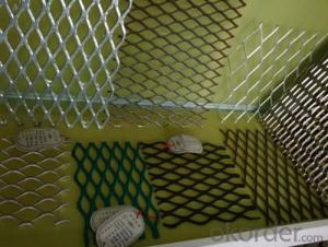 aluminum  expanded metal mesh with high quality