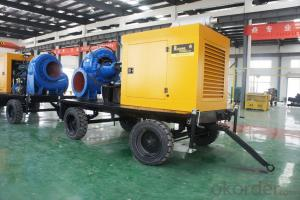 Mix-flow Diesel Water Pump Diesel Engine Pump Power Pump(8m lift)