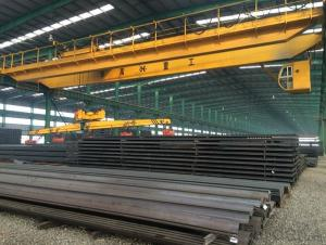 Hot Rolled Heavy Steel Rails for Rails of Tren GB38KG, GB43KG