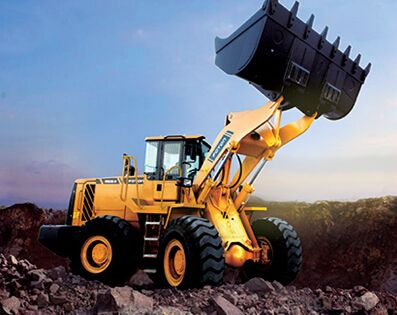 Wheel-loader: FL958G-II,The 360°Panoramic Cab Provides an Increase of Interior Space