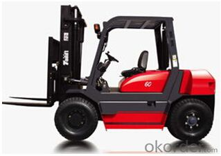 Forklift: FL540D, All hydraulic control system, load sensor, simple operation