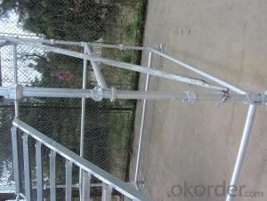 Standard Galvanized Cuplock  System Scaffolding