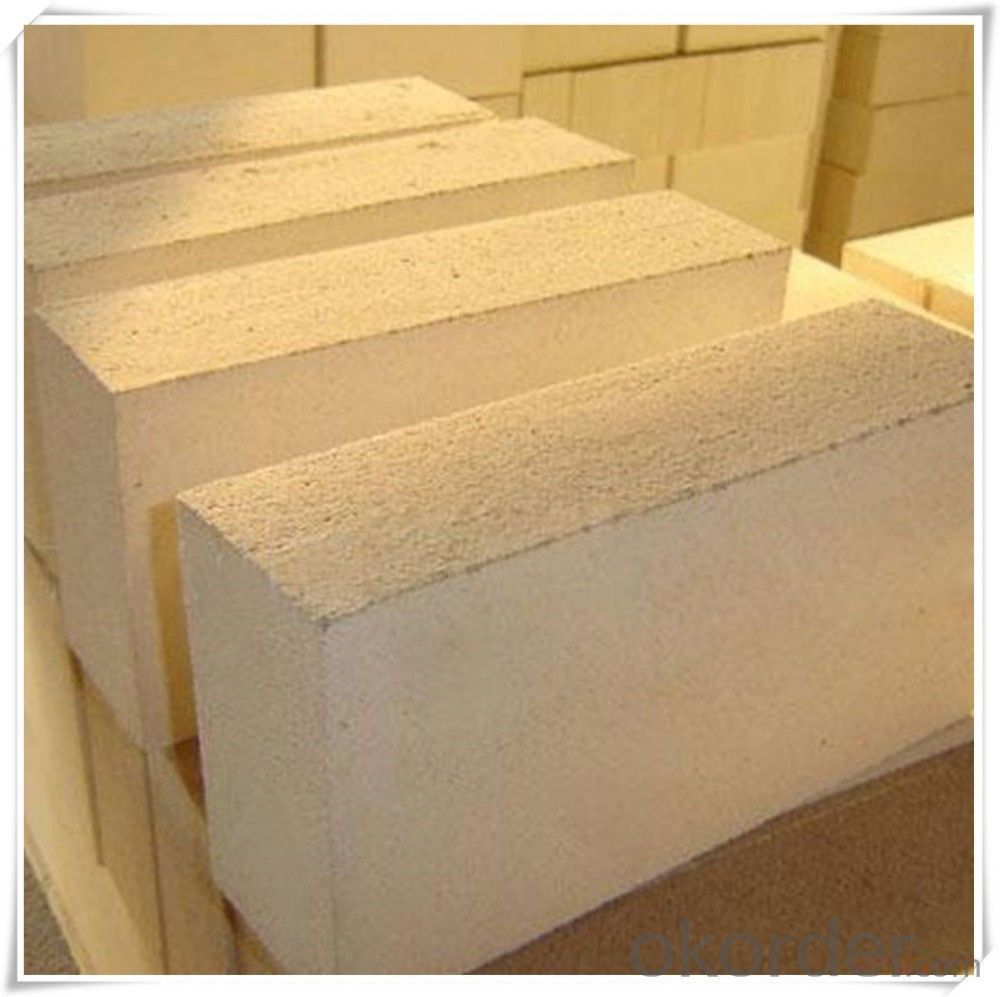 Thermal insulation fire clay brick for foundry