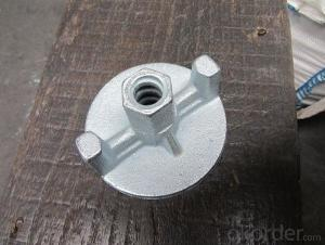Formwork Accessory  Drop Forged Wing Nut