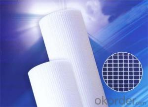 Plastic fiberglass mesh for mosaic with high quality