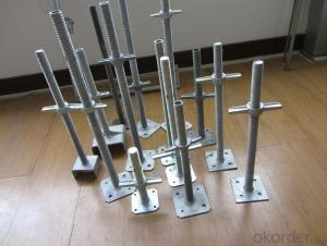 Scaffolding U Head Jack Base/screw base jack