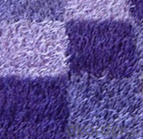 Woven Carpets of Long Pile Polyester OEM