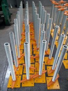 Adjustable  jack base/Screw Jack for  Scaffolding