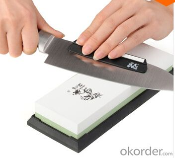 Knife Sharpening Oil Stone Whetstone 3000#8000#