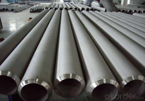 Austenitic Seamless Steel Pipe Good Corrosion Resistance 304(0Cr18Ni9)