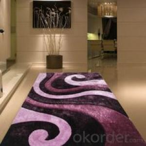 Modern Woven Shaggy Carpets & Rugs of Polyester Hot Selling for Living
