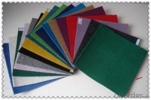 Anti-slip Outdoor Carpet Non woven  Exhibition Carpet Plain surface