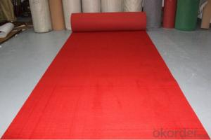 Non woven  Exhibition Carpet Plain surface