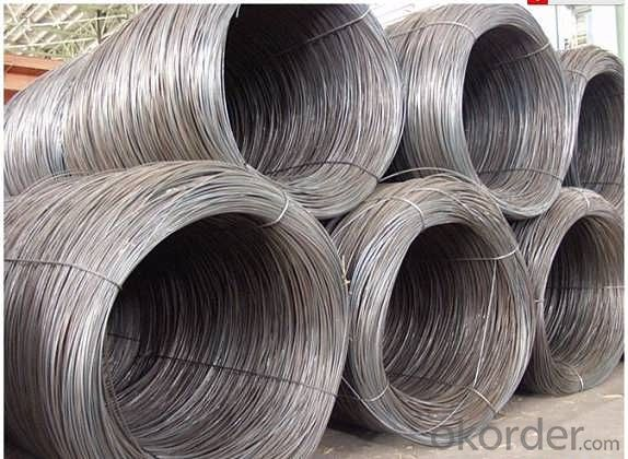 Hot Rolled Steel Wire Rod SAE1006 ou Q235  5.5MM-14MM